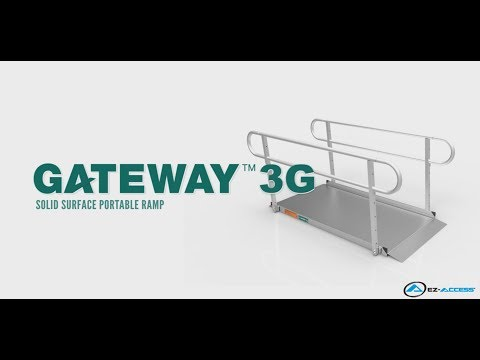 Thumbnail of the Product Overview - GATEWAY™ 3G Solid Surface Portable Ramp | EZ-ACCESS video