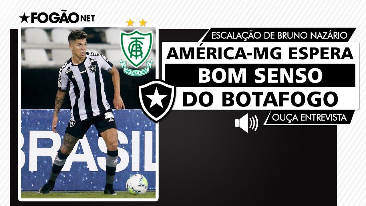 América-MG 'pressiona' Botafogo para não escalar Bruno Nazário, perto de assinar por dois anos a pedido de Lisca