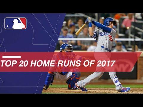 Top home run hitters' longest 2017 HRs