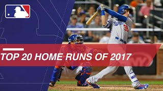 Top home run hitters' longest 2017 HRs - Video Youtube