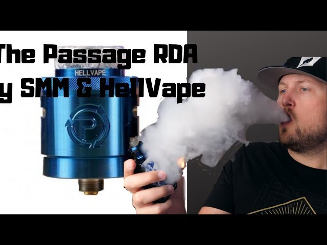 The Passage RDA by SMM & Hellvape!~GBV Review