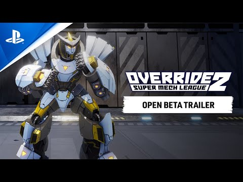 Override 2: Super Mech League open beta begins today on PS5 and PS4