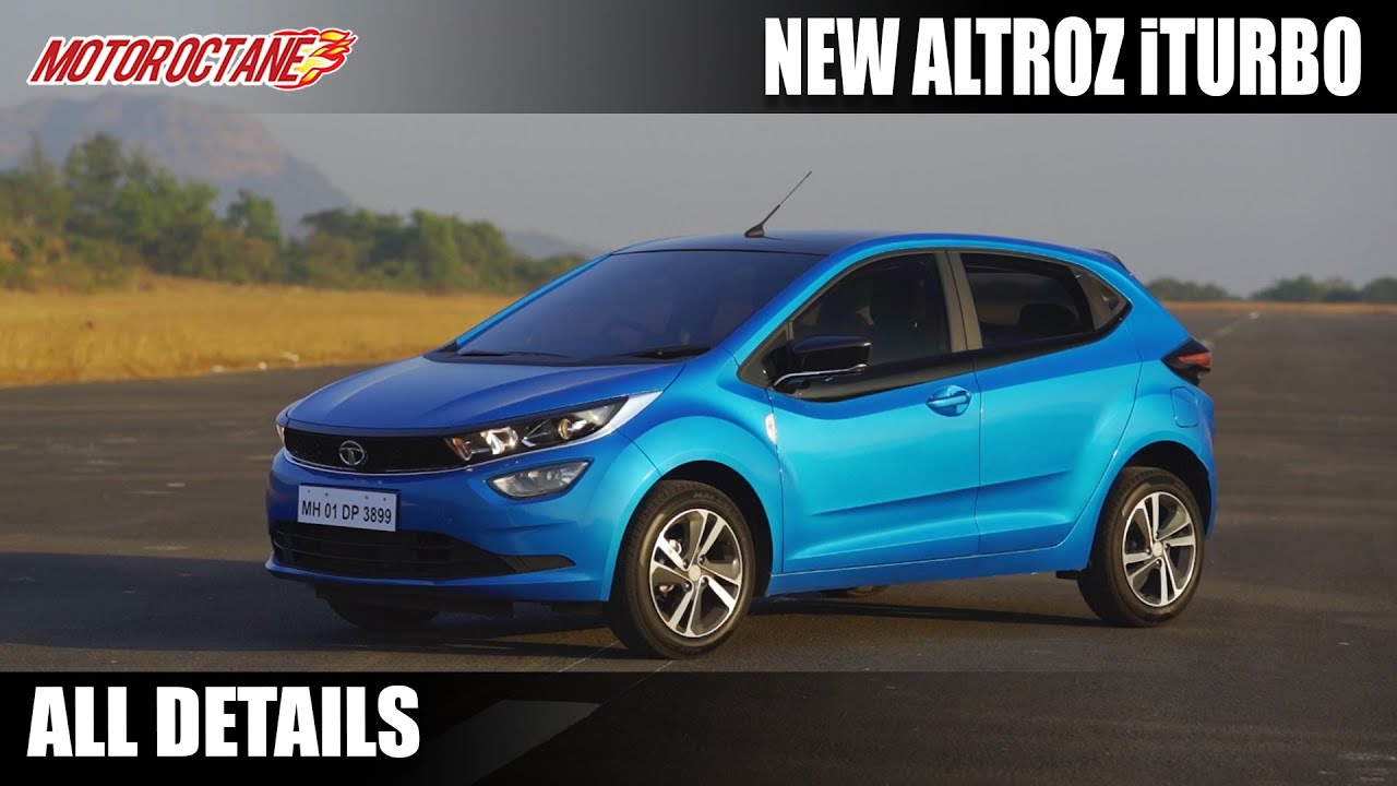 Motoroctane Youtube Video - Tata Altroz iTurbo - Variants, Features, Mileage and All Specs