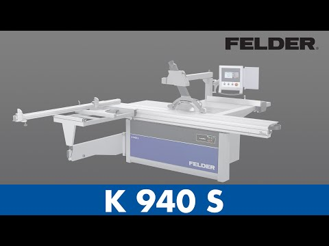 FELDER® - Sliding table saw - benefits