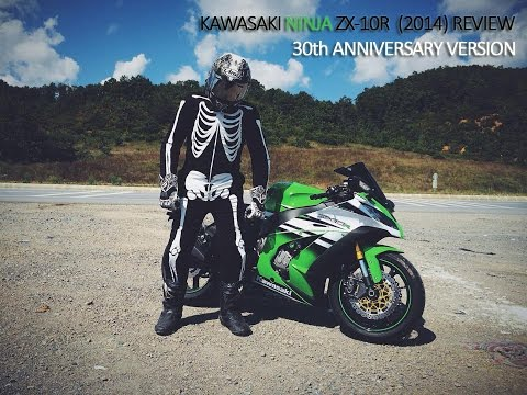 KAWASAKI NINJA ZX-10R (2015) REVIEW