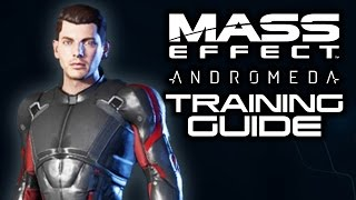 MASS EFFECT ANDROMEDA: How To Choose Training and Starting Powers! (Basic Training Classes Guide)