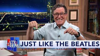 Stephen Colbert Returns To The Historic Ed Sullivan Theater... Office Building