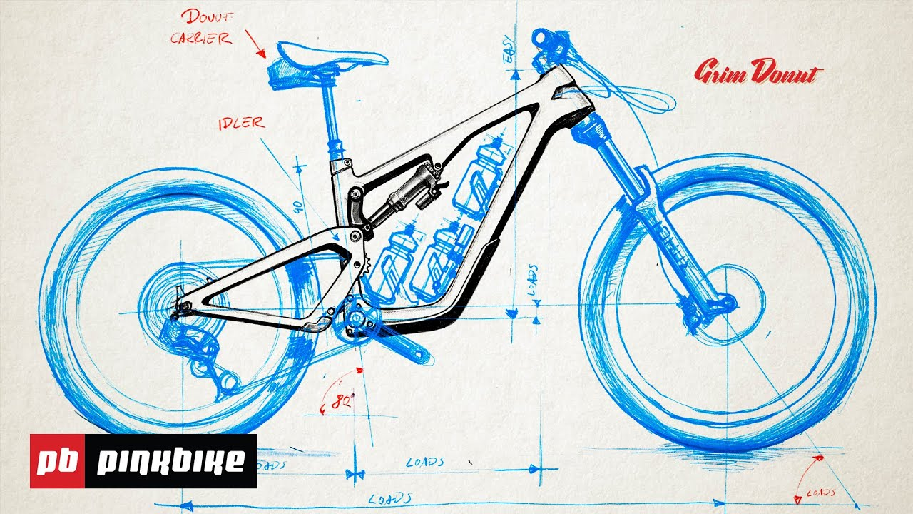 Grim Donut, immaginare la mountain bike del futuro