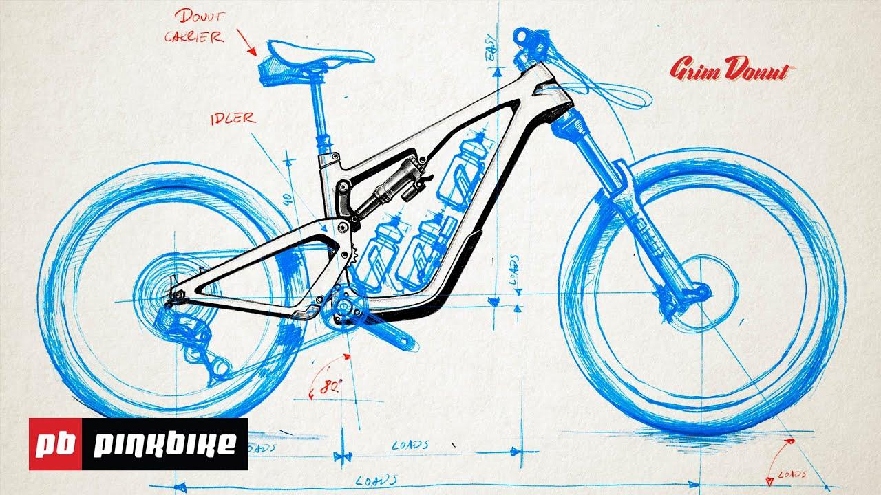 Grim Donut, immaginare la mountain bike del futuro