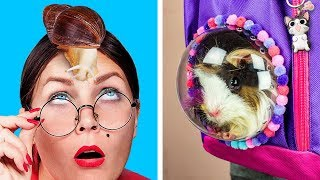Sınıfa Nasıl Evcil Hayvan Sokulur / 8 Eğlenceli Evcil Hayvan Şakası ve Hilesi