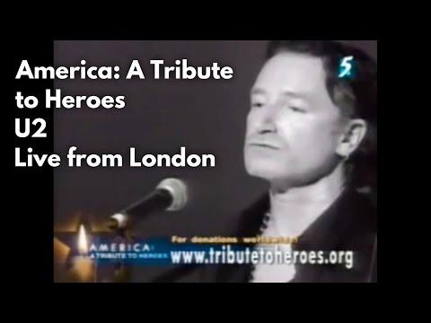 America: A Tribute To Heroes U2& Natalie Imbruglia Walk On