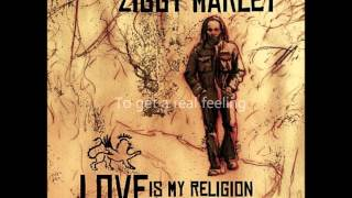Ziggy Marley Beach in Hawaii with Lyrics on Screen.