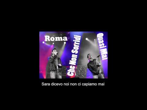 Zero Assoluto - Roma (Che Non Sorridi Quasi Mai) testo