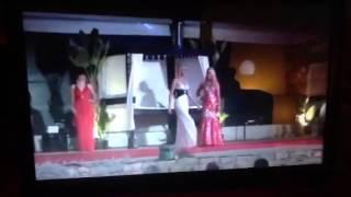Miss European 2012 gown round hannah hunter