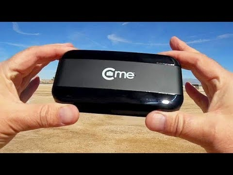C-me Cme GPS Follow Me Folding Selfie Drone Flight Test Review