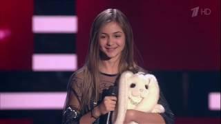 Юлианна Берегой «Skyfall»   Слепые прослушивания   Голос Дети   Сезон 4