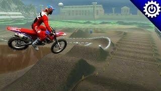 MX Vs. ATV Reflex   Prison Yard SX   Custom Track Gameplay