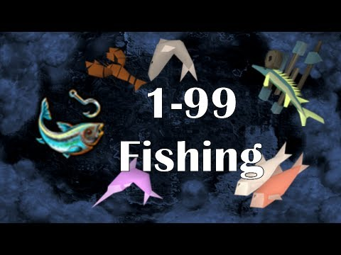 Video RS07: 1-99 Fishing Guide | Fastest Training Methods on Old School RS2007 | Fish 07 by Idk Whats Rc