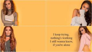 Little Mix No More Sad Songs Acoustic