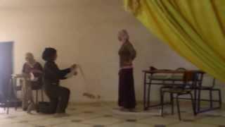 preview picture of video 'petite pièce théâtrale: sahsah....le technicien---1ère partie'