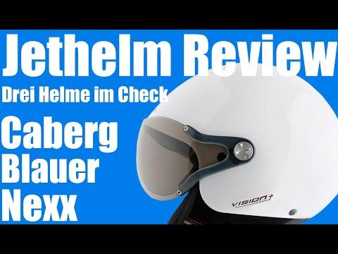 Motorrad Helm Review - Jethelme angetestet - Blauer, Caberg, Nexx - Motovlog - Bike4Fun