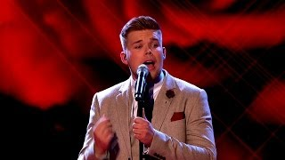 Jamie Johnson performs 'I Cant Make You Love Me' - The Voice UK 2014: The Live Semi Finals - BBC One