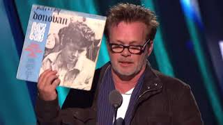 John Mellencamp Inducts Donovan into the Rock and Roll Hall of Fame