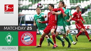 Lewy & Co. keep cruising   Werder Bremen - FC Bayern   1-3   All Goals   Matchday 25 – Bundesliga