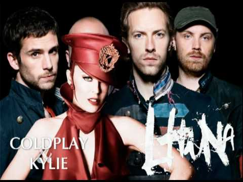 Lhuna - Coldplay featuring Kylie Minogue