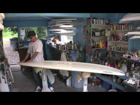 Shuler Surfboards; The 'Whole Works' longboard model