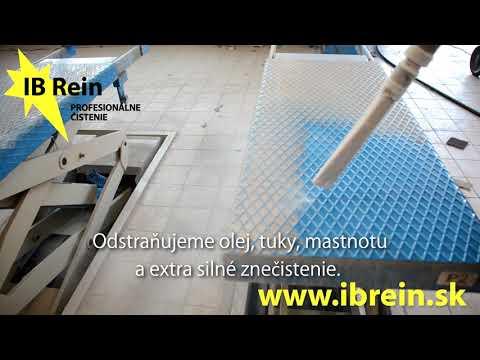 Otryskávanie a čistenie povrchov suchým ľadom