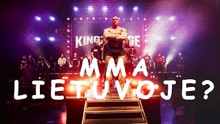 "UFC   MMA   Lietuvoje?   ""King Of The Cage"""