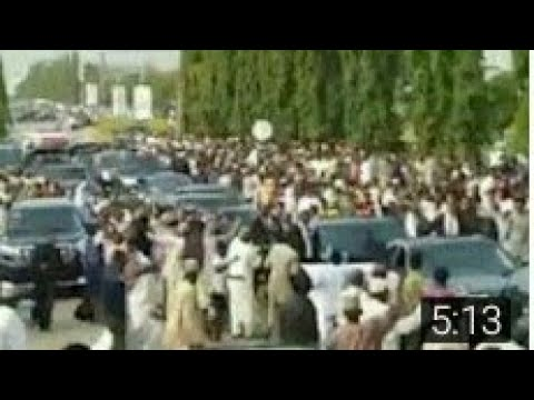 GENERAL MUHAMMAD BUHARI YA SAUKA  A KANO NIGERIA SAI BABA