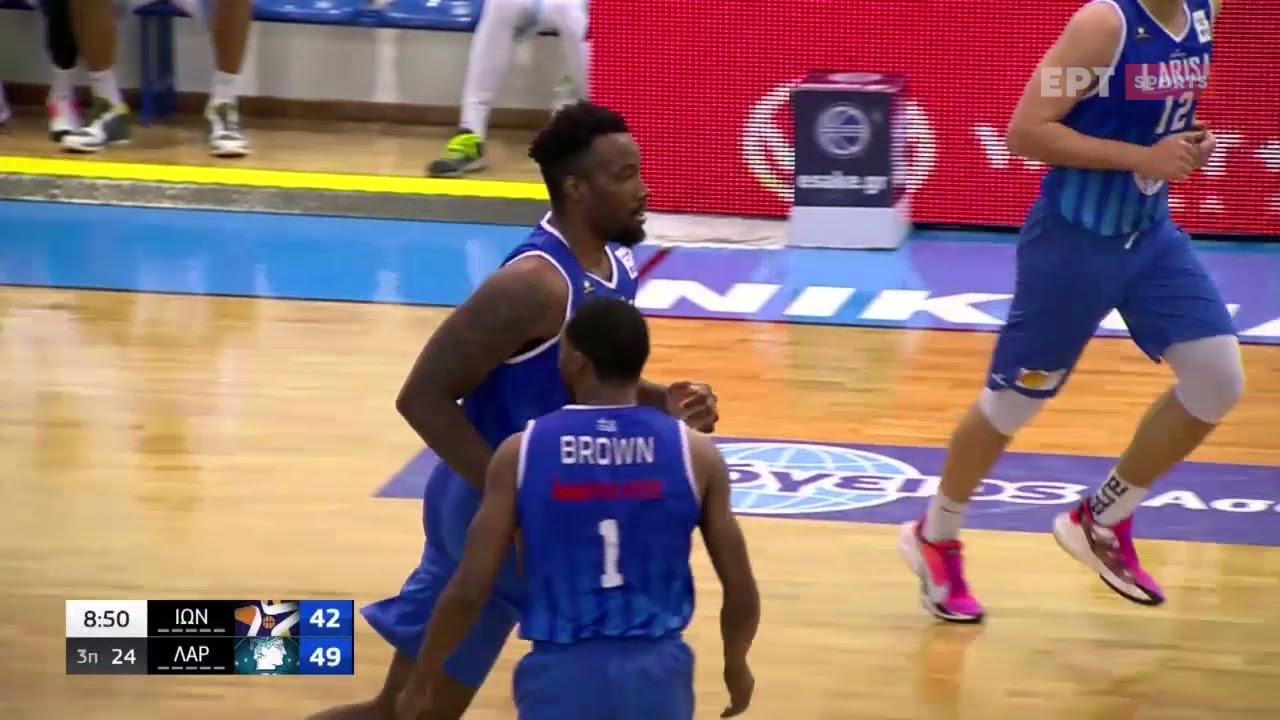 Basket League | Ιωνικός Νικαίας – Λάρισα 83-76 | HIGHLIGHTS | 21/03/21 | ΕΡΤ