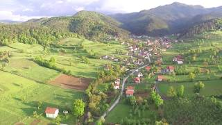 TCS/ Drone Flight Over Village/ DJI Phantom 3 Standard