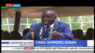 Governor Sang calms down, calls for reconciliation in the county
