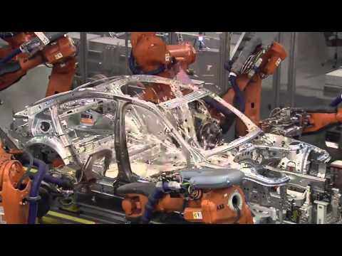 BMW 3 Series Body Assembly Line