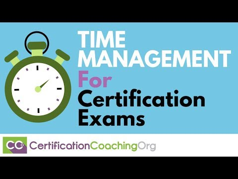 Time Management Tips for Certification Exams - YouTube
