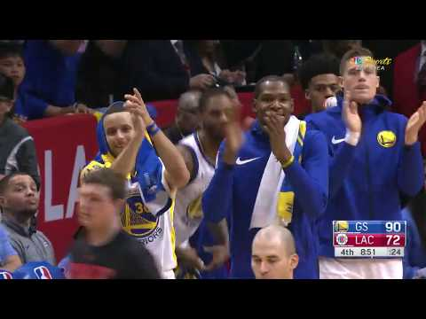 DeMarcus Cousins Got A Standing Ovation After Fouling Out In 1st Game With Golden  State Warriors 24cc5b49d