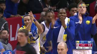 DeMarcus Cousins Got A Standing Ovation After Fouling Out In 1st Game With Golden State Warriors