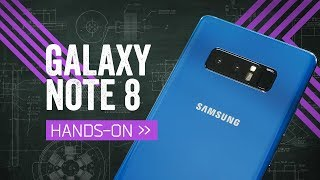 Samsung Galaxy Note8 Hands-On: The Big Do-Over