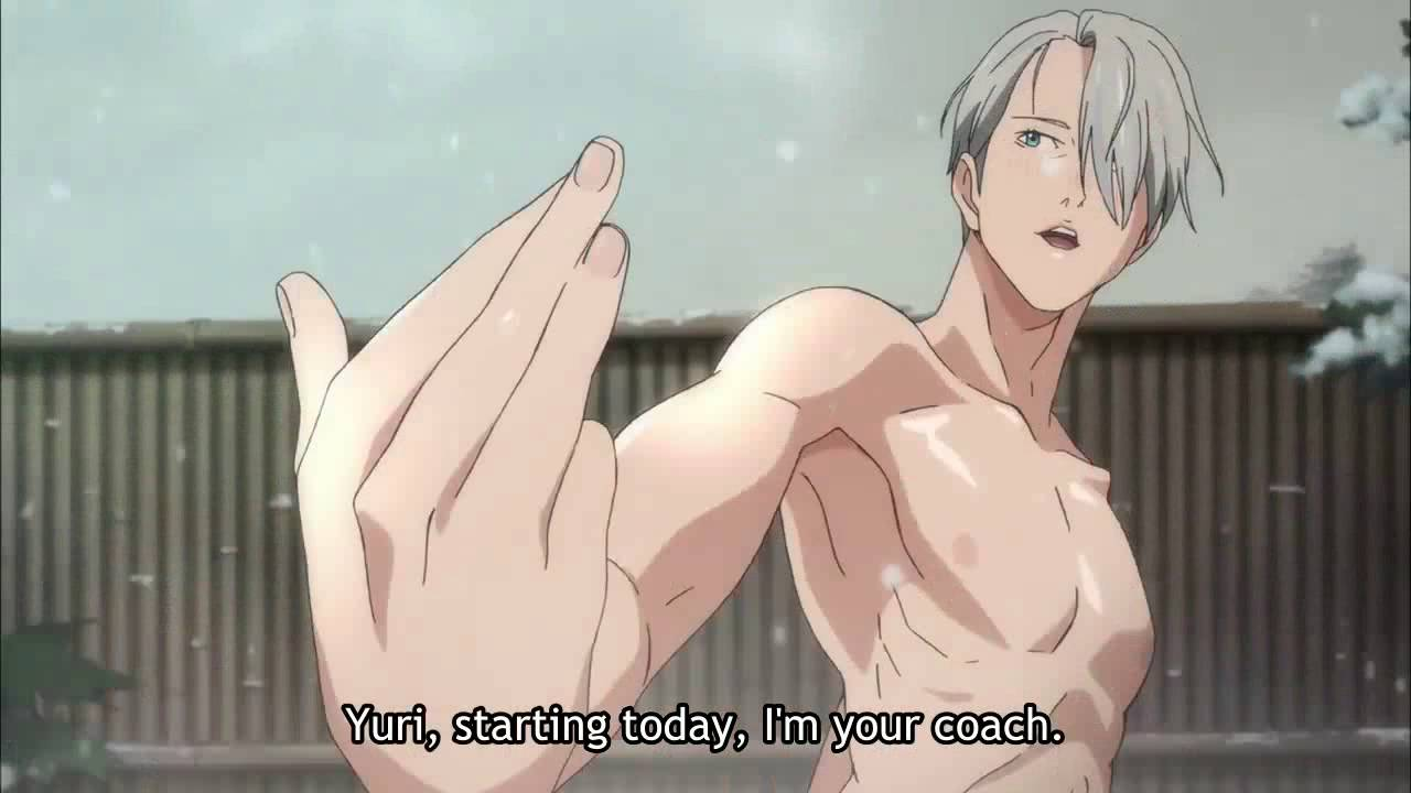 Yuri on Ice funny moment