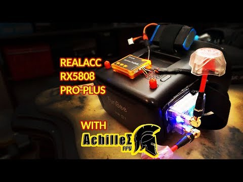 Realacc RX5808-PRO-PLUS 🙃👉 BOX Goggles MOD 🔧
