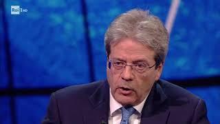 Gentiloni sulle elezioni - Che tempo che fa 07/01/2018