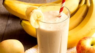Apple Banana Smoothie   Healthy Juice Recipes