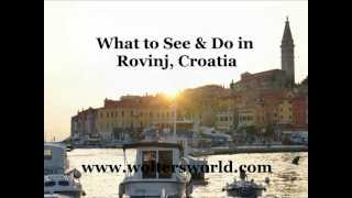 preview picture of video 'Rovinj - What to See & Do in Rovinj, Croatia'