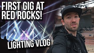 My First Gig at RED ROCKS! Lighting Zomboy @ Global Dub Fest