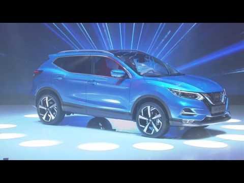 A apresentação do novo Nissan Qashqai