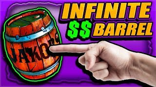 SHOOT This BARREL For INFINITE MONEY (Never Stops Dumping Money) Millions in Minutes - BORDERLANDS 3
