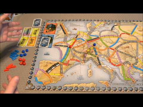 DGA Teaches - Ticket to Ride: Europe - Europa 1912 Expansion (Ep. 160)
